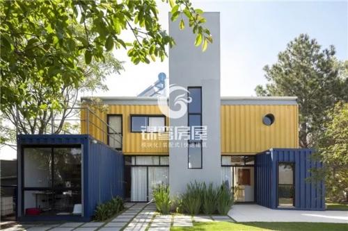 集装箱民宿 |  200平米的轻奢别墅,体验金属工业感的精致