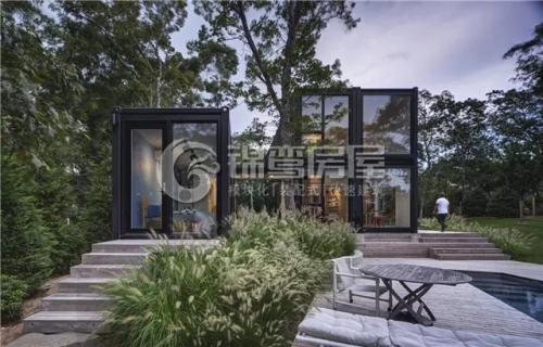 集装箱园林住宅 |  与大自然最佳的搭配方式